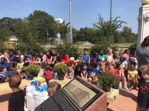 Spending time with Kindergarten Classes
