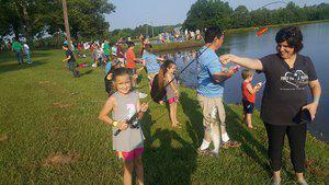FISHING RODEO, HOUSTON MS