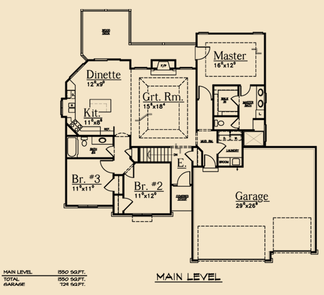House plans split bedroom house and home design - Ranch floor plans with split bedrooms ideas ...