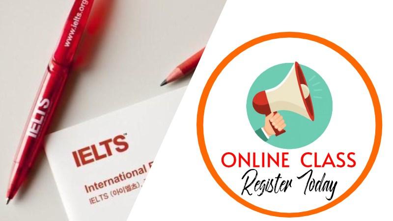 IELTS Online Class