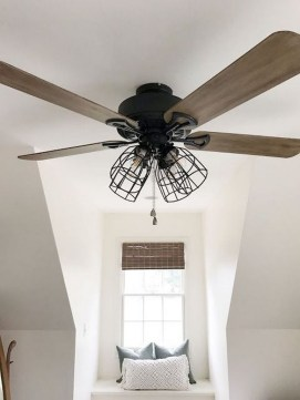 39 blade standard ceiling fan with pull chain and light kit included joss & main 19