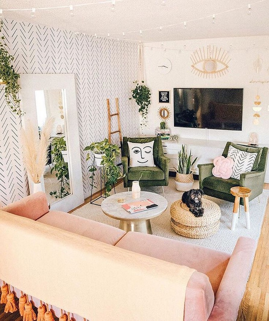 45 ideas to decorate your room with plants 1