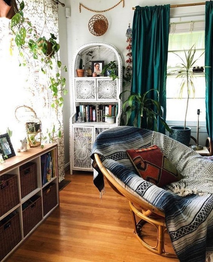 45 ideas to decorate your room with plants 23