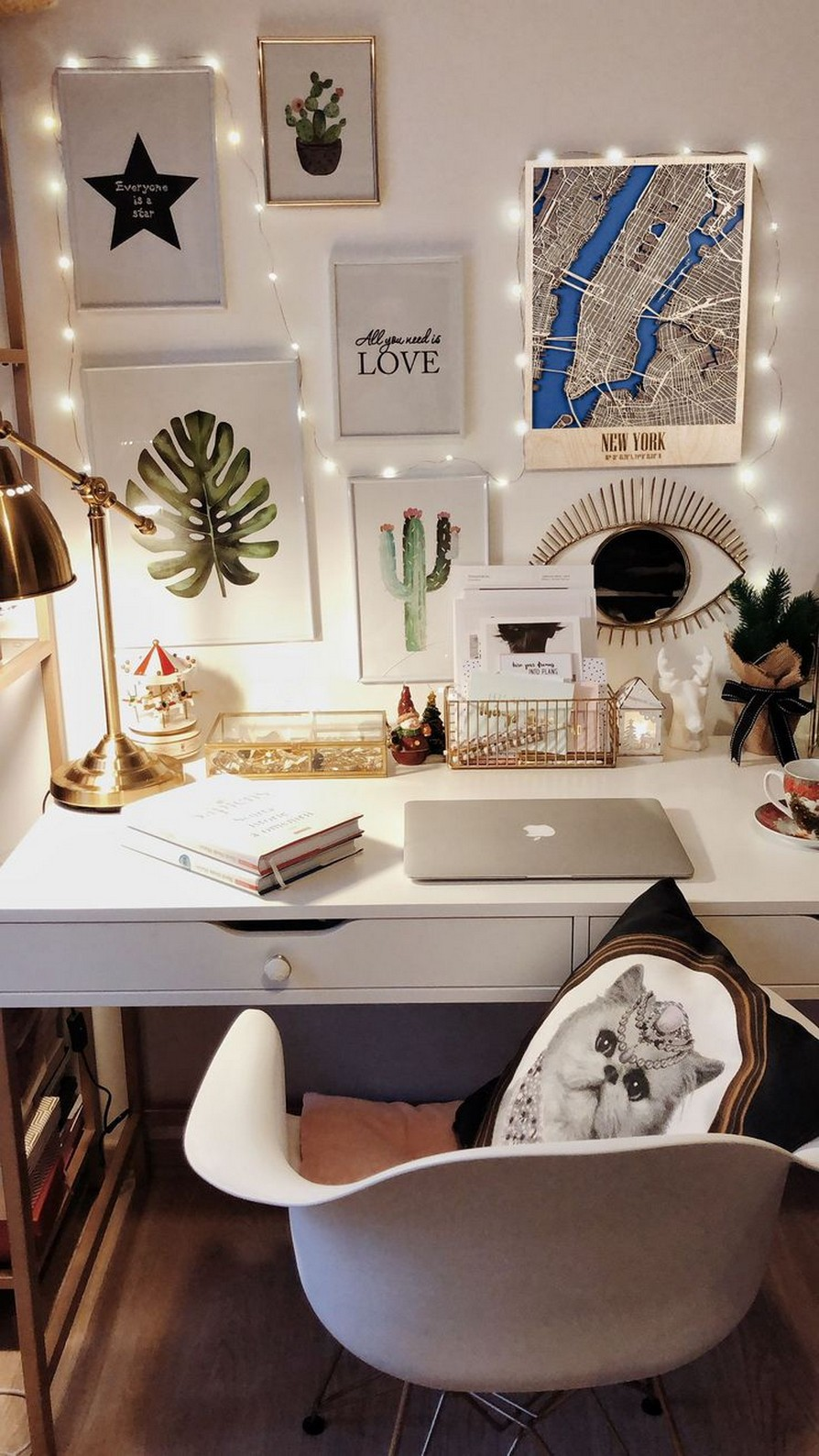 45 ideas to decorate your room with plants 32