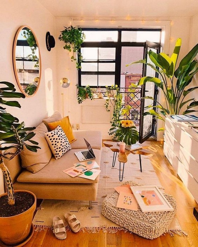 45 ideas to decorate your room with plants 33
