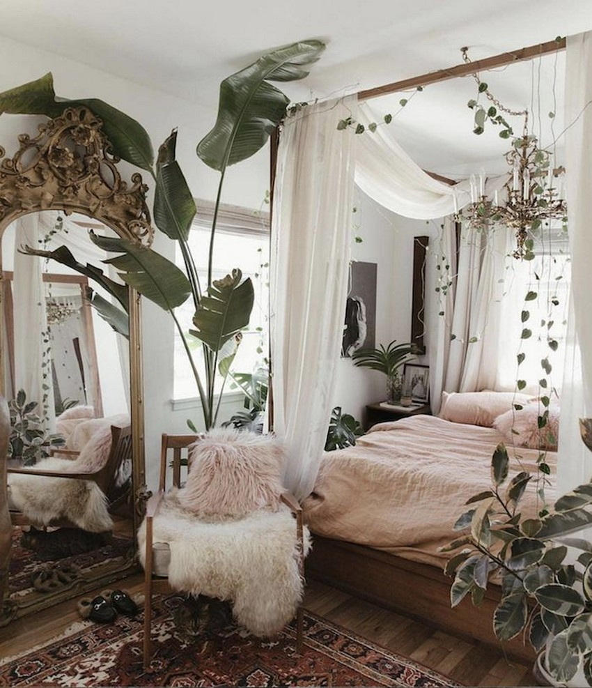45 ideas to decorate your room with plants 38