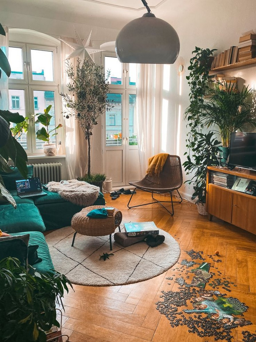 45 ideas to decorate your room with plants 41