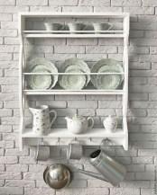 50 wall display cabinet plate racks new ideas 4