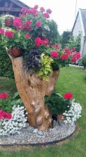 51 recycled wine bottles are the planters you didn't know you needed 26