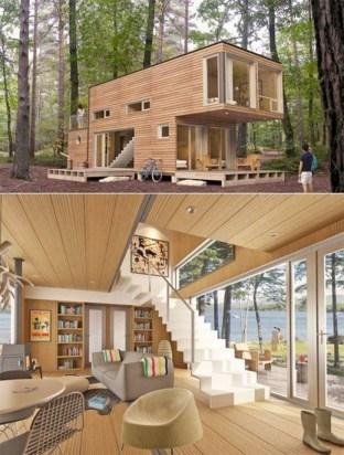 53 extraordinary tiny house design ideas to inspire you #homeideas 2