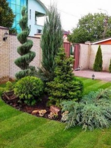 57 Impressive Front Garden Design Ideas To Try In Your Home 46
