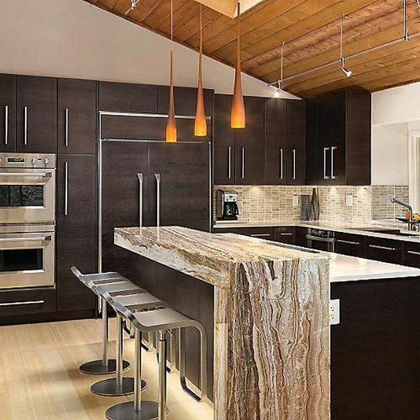 58 Kitchen Island Ideas To Add That Perfect Blend Of Drama Design Hike N Dip 16