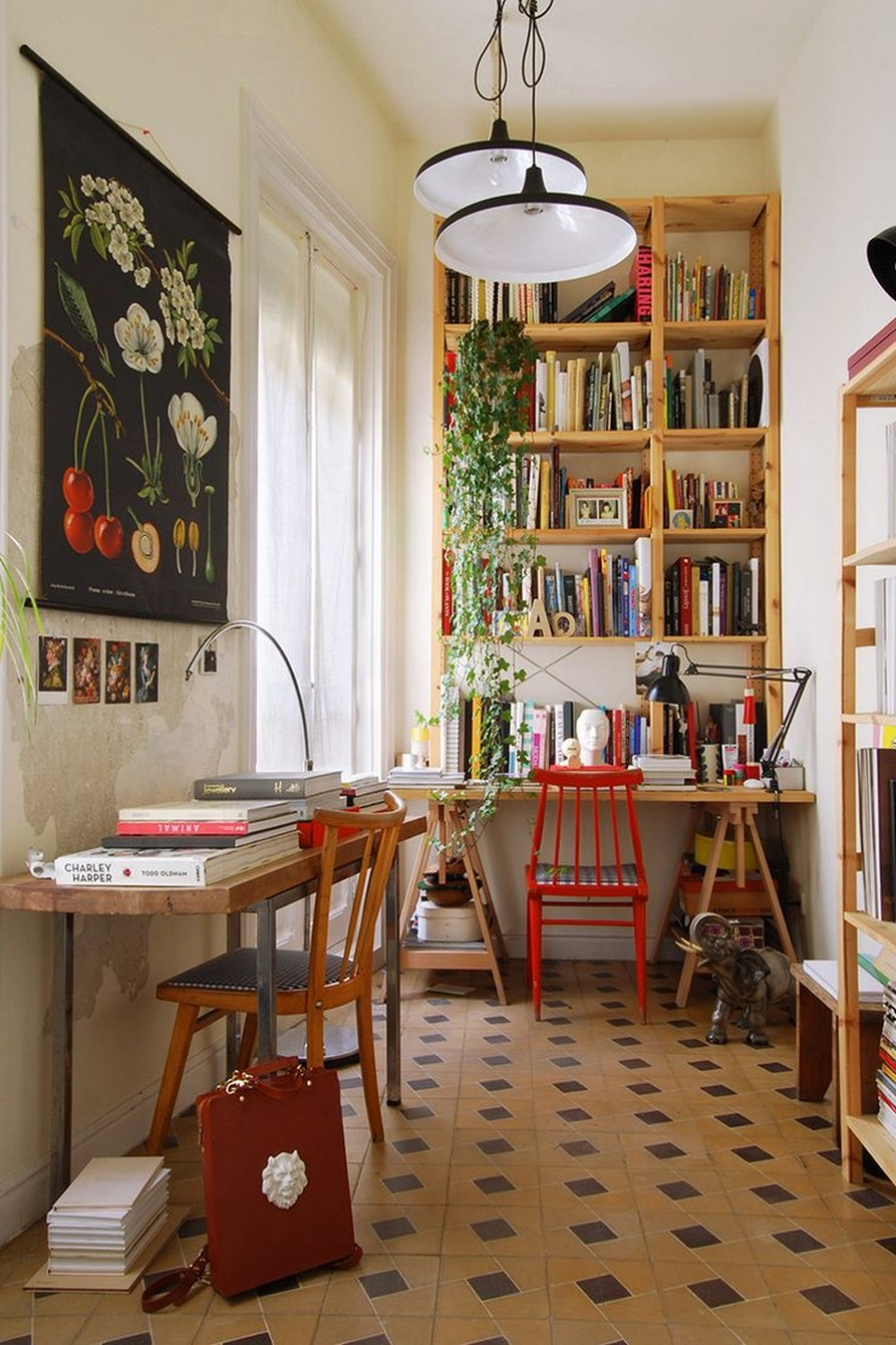 61 Stylish Ways To Display Bookshelves With A Lot Of Books Posh Pennies 1
