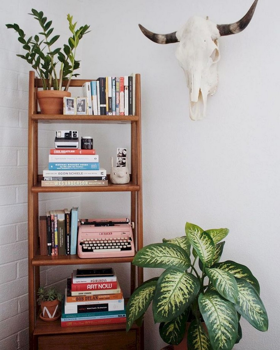 61 Stylish Ways To Display Bookshelves With A Lot Of Books Posh Pennies 4