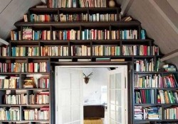 61 Stylish Ways To Display Bookshelves With A Lot Of Books Posh Pennies 60