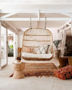 65 creative balcony design ideas with swing chair that more awesome #outdoorspace 28