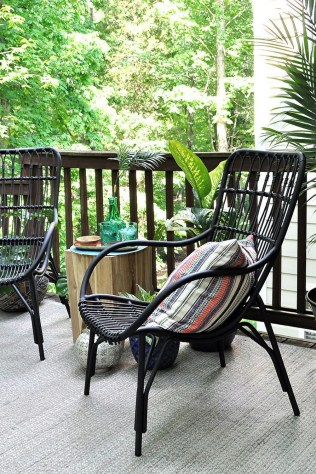 65 creative balcony design ideas with swing chair that more awesome #outdoorspace 33