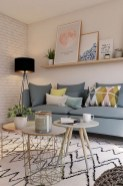 71 Inspiring Living Room Wall Decoration Ideas You Can Try 53