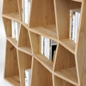 30 Medium Bookshelf Comb In Black 10