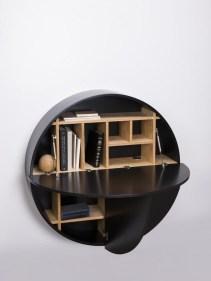 30 Medium Bookshelf Comb In Black 16