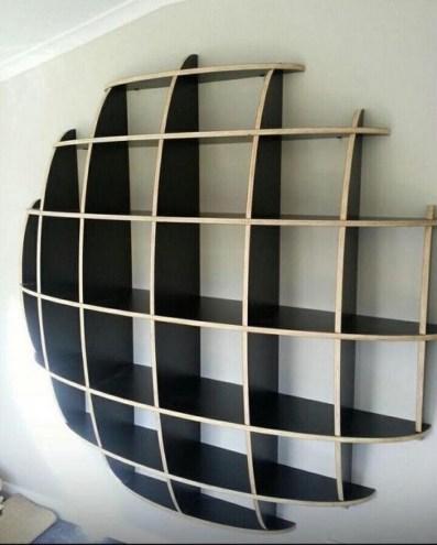 30 Medium Bookshelf Comb In Black 24
