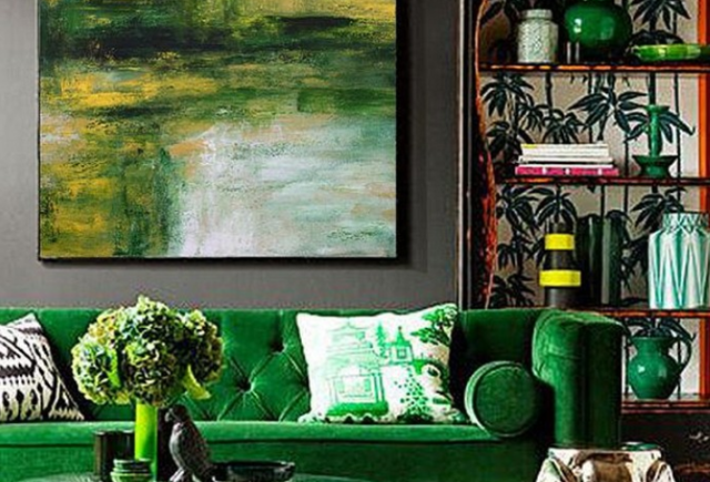 32 Decorating With Color Sofa Statement Bold Color Sofa