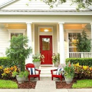 38 Farmhouse Style Front Porch Ideas 19