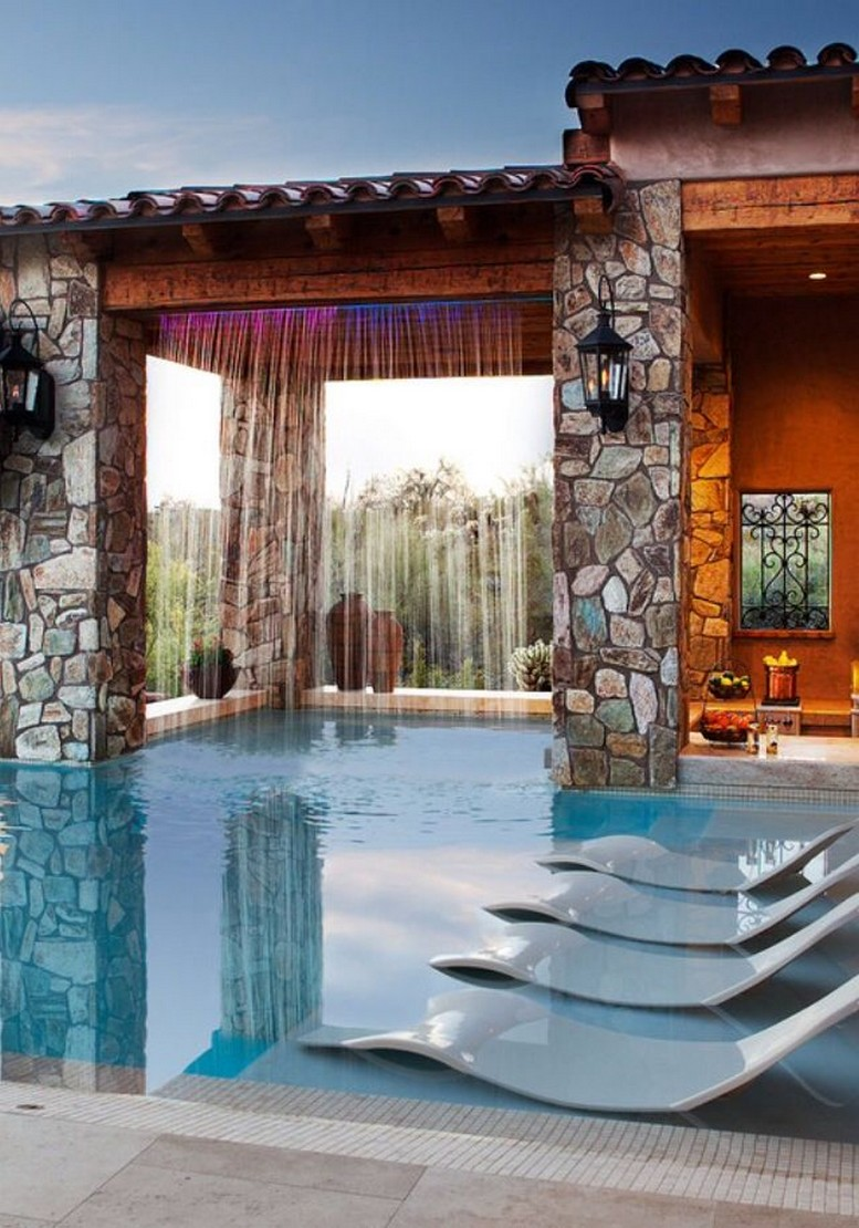 40 Fascinating Pool House Ideas 10