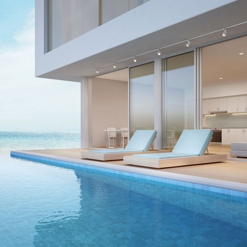40 Fascinating Pool House Ideas 14