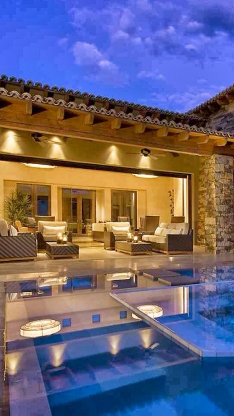 40 Fascinating Pool House Ideas 39