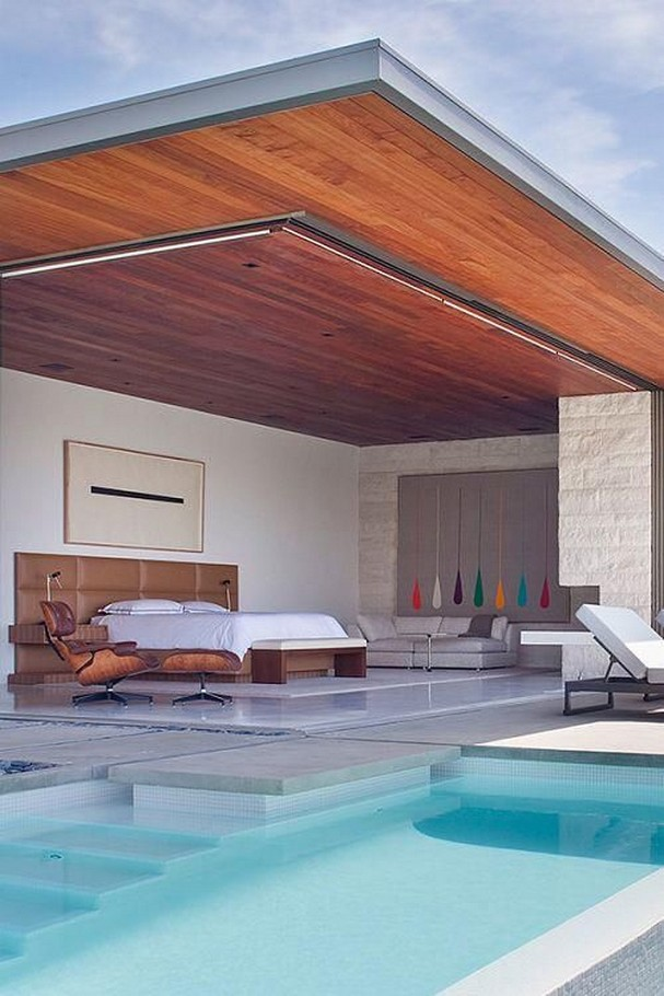 40 Fascinating Pool House Ideas 7