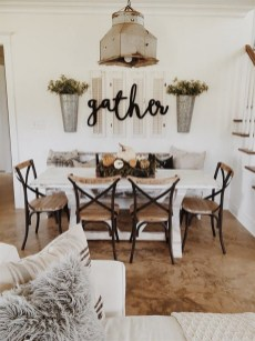 41 Rustic Dining Rooms That Will Make Your Farmhouse Shine 14