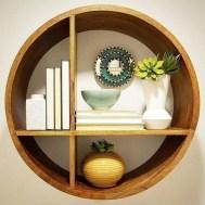 63 malta round wood wall shelf 21