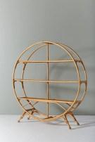 63 malta round wood wall shelf 46