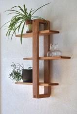 63 malta round wood wall shelf 60