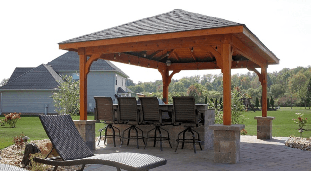 32 Best Backyard Pavilion Ideas Covered Outdoor Structure Designs