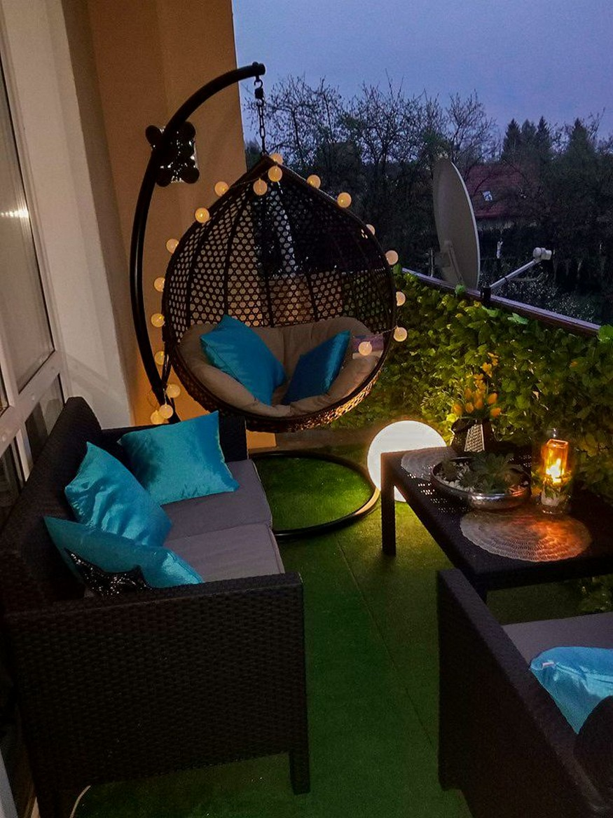 12 Apartment Balcony Ideas – Home Decor 8