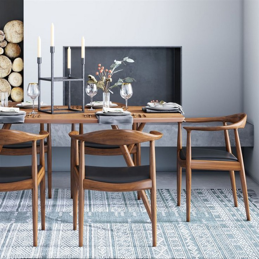 10 Modern Dining Room Table – Home Decor 18