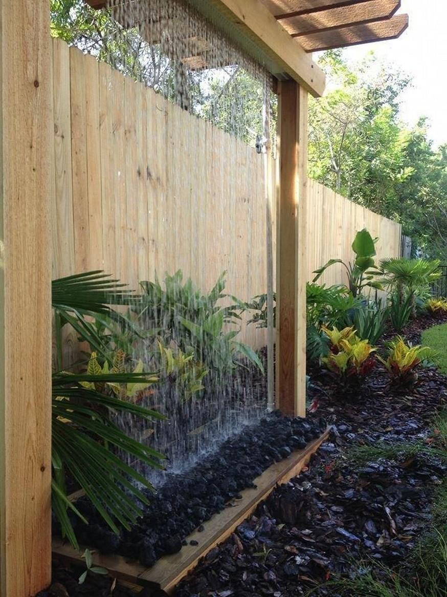 11 Delightful Garden Waterfall Home Decor 1
