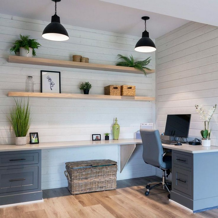 12 Creating The Perfect Work Space At Home Home Deccor 11