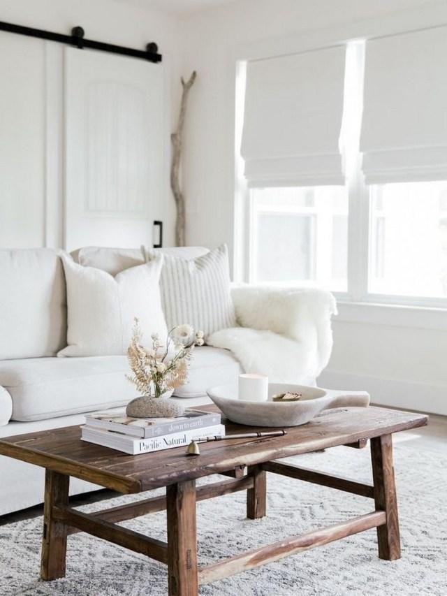 12 White Living Room Elegant Home Decor 1