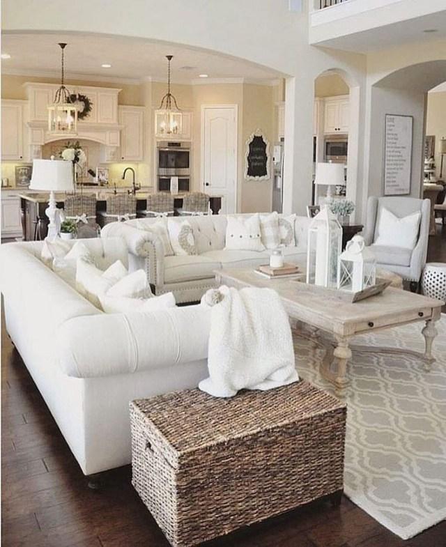 12 White Living Room Elegant Home Decor 13