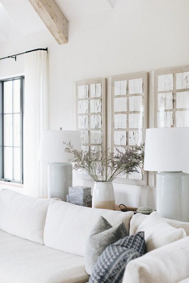 12 White Living Room Elegant Home Decor 18