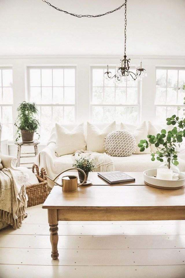 12 White Living Room Elegant Home Decor 9