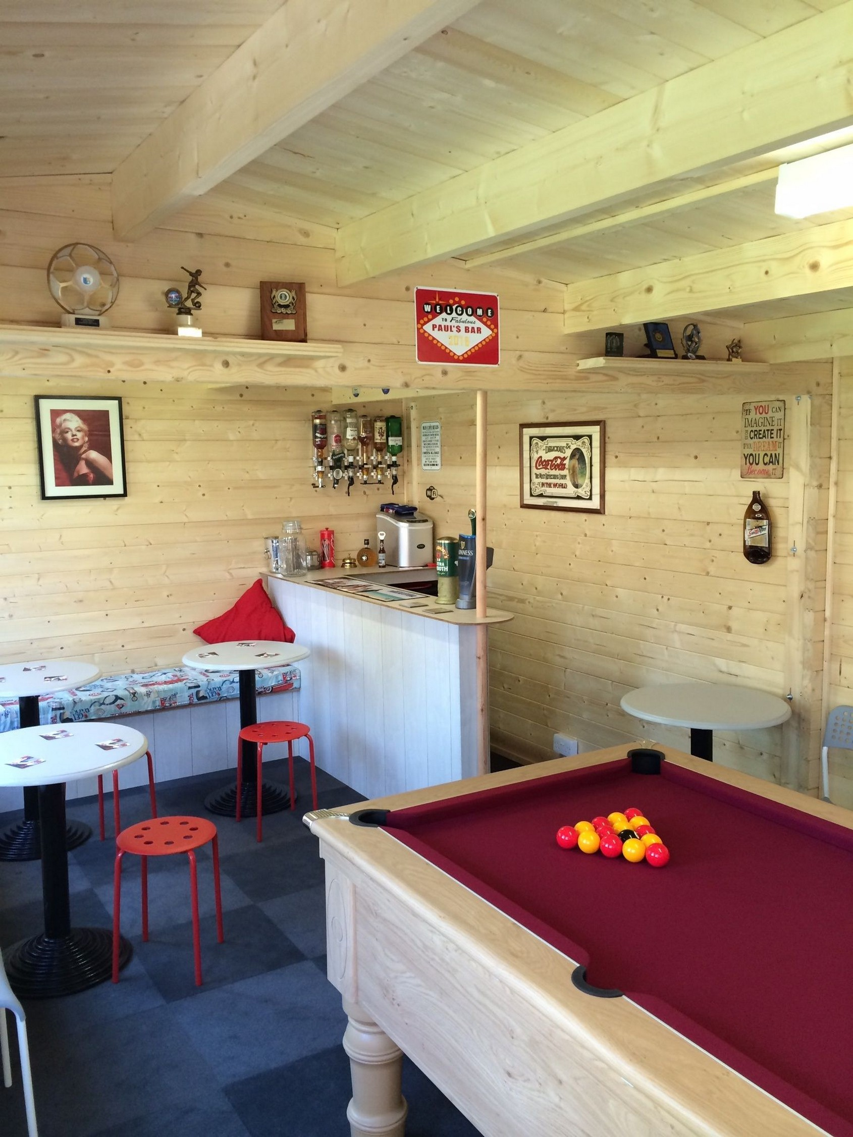60 Man Cave Bar Ideas To Slake Your Thirst 20