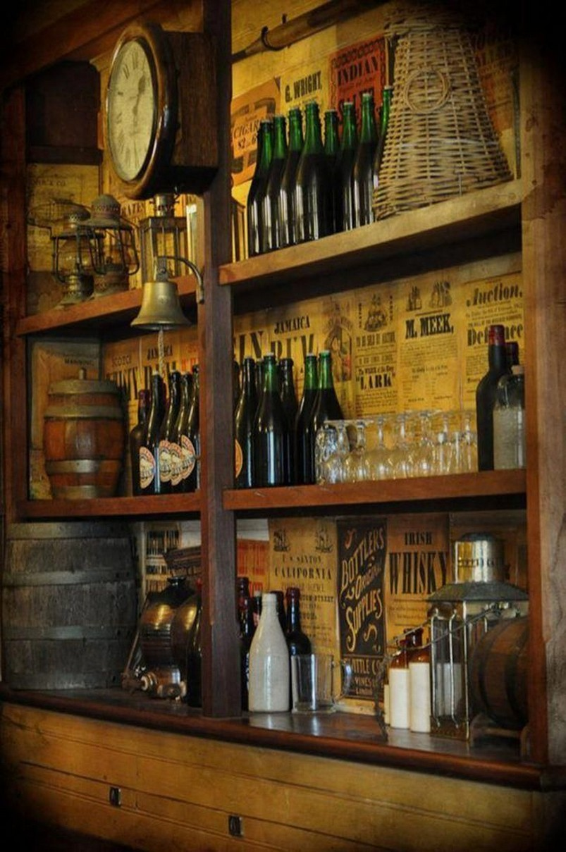 60 Man Cave Bar Ideas To Slake Your Thirst 40