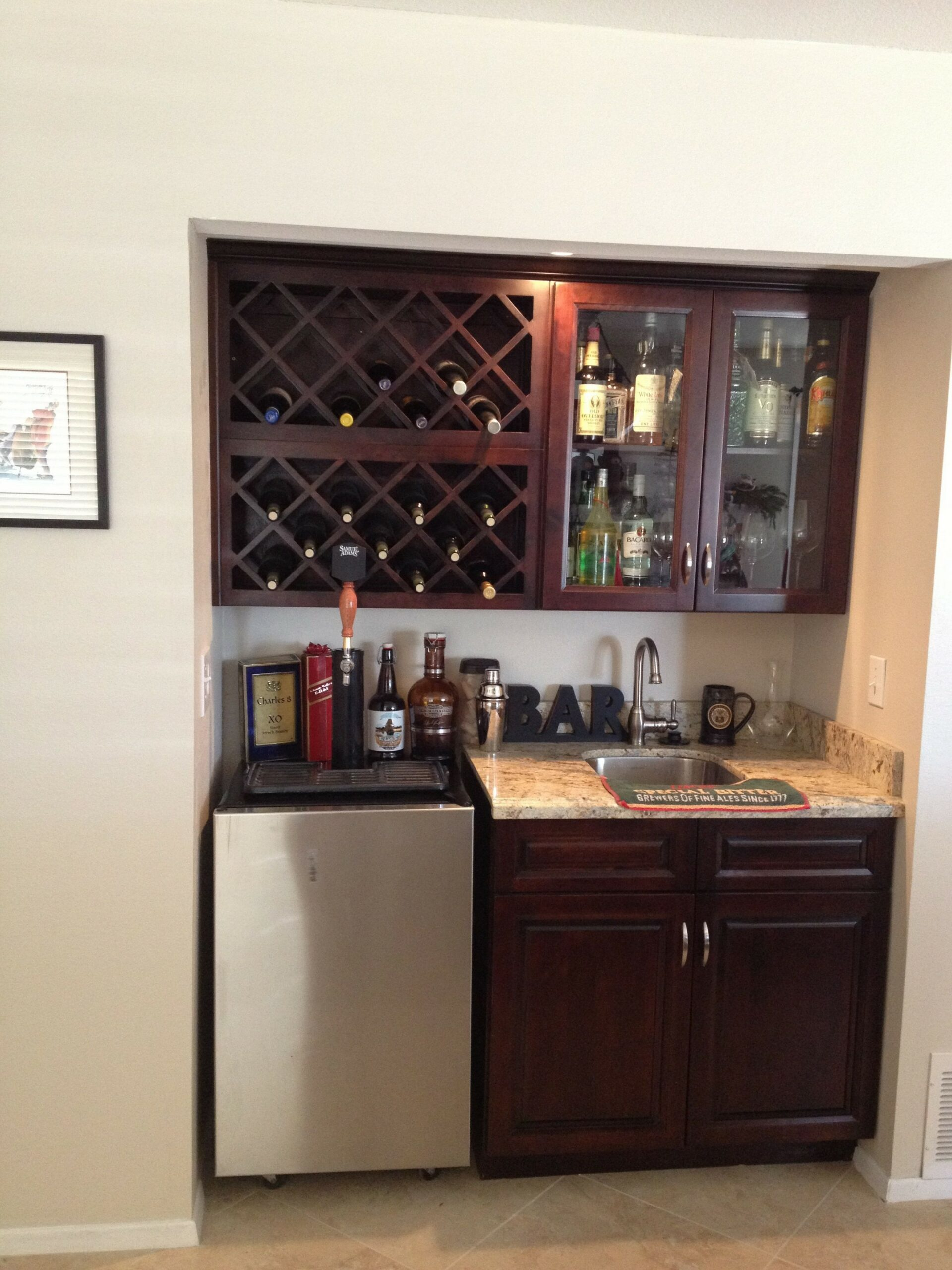 60 Man Cave Bar Ideas To Slake Your Thirst 49