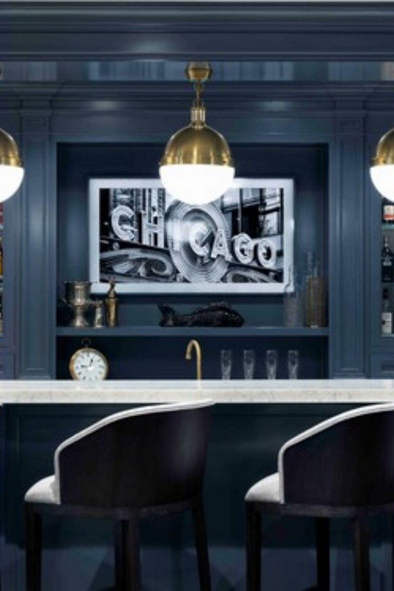 60 Man Cave Bar Ideas To Slake Your Thirst 54