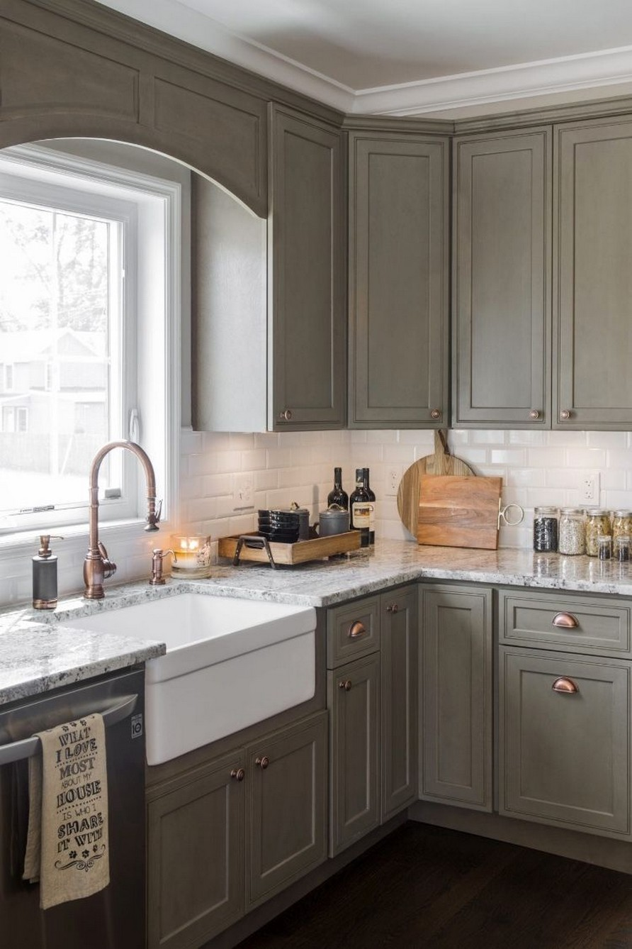 71 Painted Kitchen Cabinets Ideas For Home Decor 36
