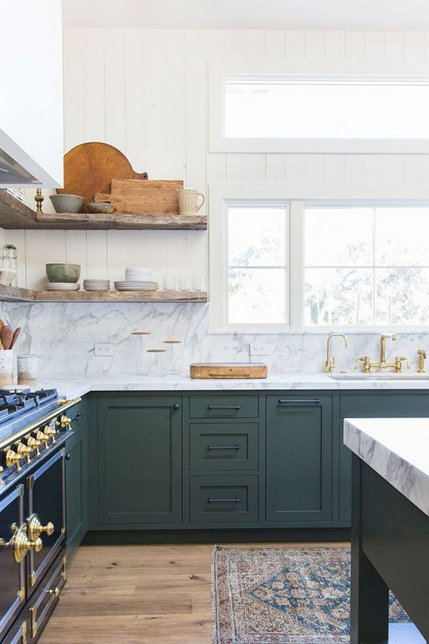 71 Painted Kitchen Cabinets Ideas For Home Decor 51
